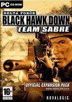 Obal-Delta Force: Black Hawk Down -- Team Sabre