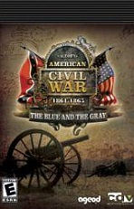 Obal-AGEOD´s American Civil War: 1861-1865 -- The Blue and the Gray