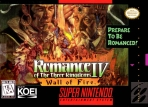 Obal-Romance of the Three Kingdoms IV: Wall of Fire