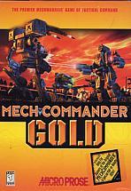 Obal-MechCommander Gold