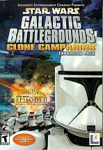 Obal-Star Wars Galactic Battlegrounds: The Clone Campaigns