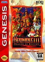 Obal-Romance of the Three Kingdoms III: Dragon of Destiny