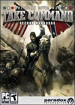 Obal-American Civil War - Take Command: Second Manassas