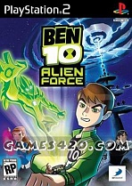 Obal-Ben 10: Alien Force -- The Game
