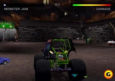 Screen Monster Jam: Maximum Destruction