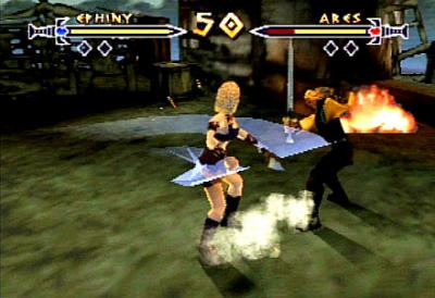 Screen ze hry Xena: Warrior Princess