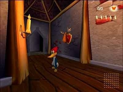 Screen ze hry Woody Woodpecker: Escape From Buzz Buzzard Park