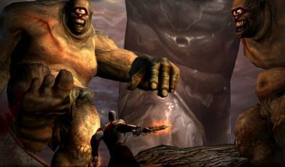 Screen ze hry God of War II