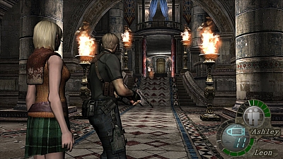 Screen ze hry Resident Evil 4