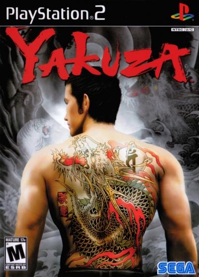 Obal hry Yakuza