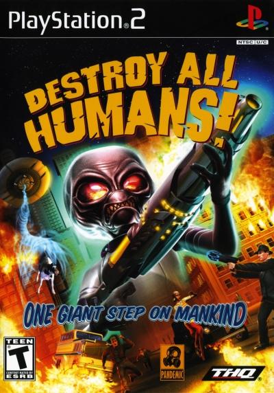 Obal hry Destroy All Humans!
