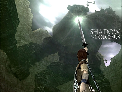 Screen ze hry Shadow of the Colossus