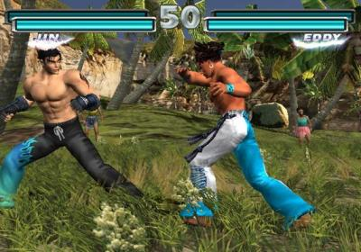 Screen ze hry Tekken Tag Tournament