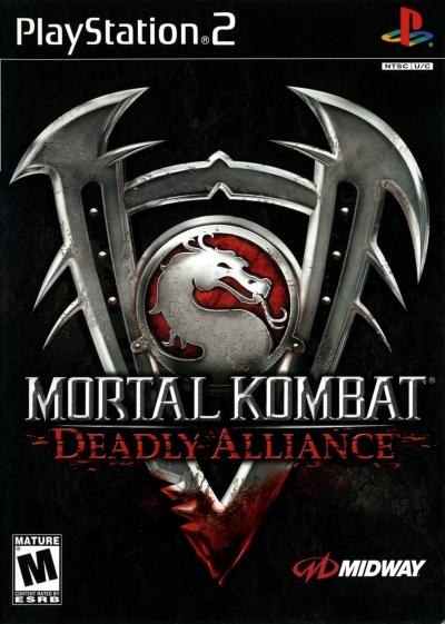 Obal hry Mortal Kombat: Deadly Alliance