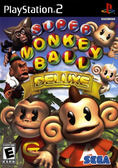 Obal hry Super Monkey Ball Deluxe