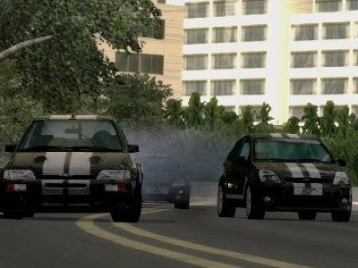 Screen ze hry Ford Bold Moves Street Racing