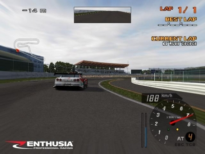 Screen ze hry Enthusia Professional Racing