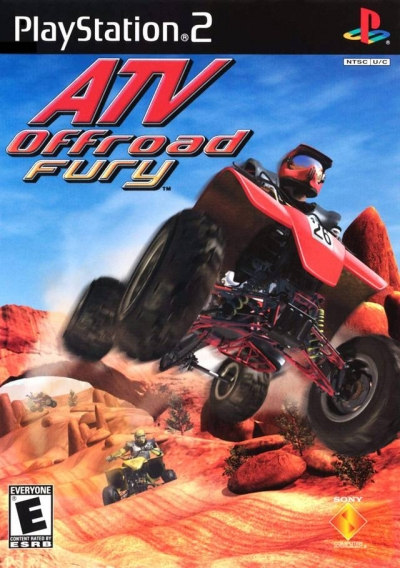 Obal hry ATV Offroad Fury