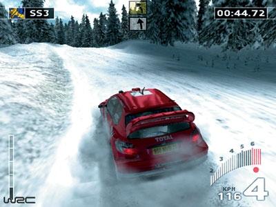 Screen ze hry WRC: World Rally Championship