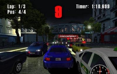 Screen ze hry Burnout