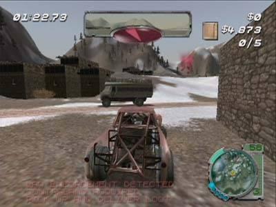 Screen ze hry Smuggler´s Run 2: Hostile Territory