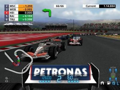 Screen ze hry Formula One 06