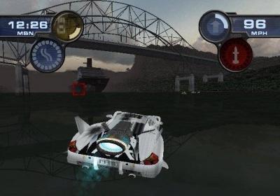 Screen ze hry SpyHunter 2