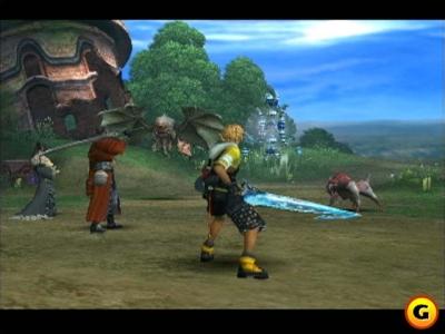 Screen ze hry Final Fantasy X