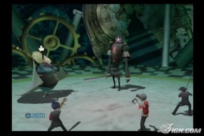 Screen ze hry Shin Megami Tensei: Persona 3