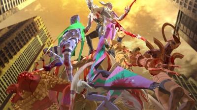 Artwork ke hře Shin Megami Tensei: Digital Devil Saga 2