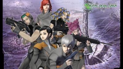 Artwork ke hře Shin Megami Tensei: Digital Devil Saga