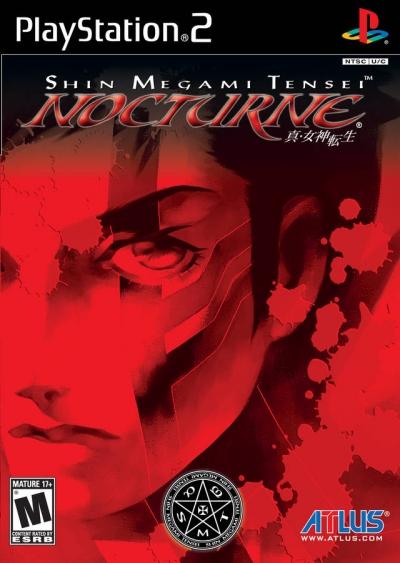 Obal hry Shin Megami Tensei: Nocturne