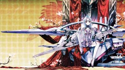 Artwork ke hře Xenosaga Episode II: Jenseits von Gut und Bose