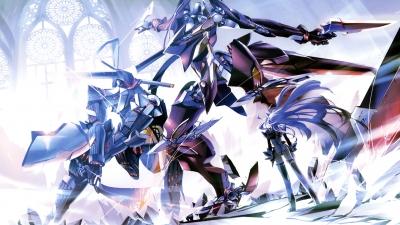 Artwork ke hře Xenosaga Episode III: Also Sprach Zarathustra