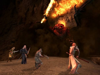 Screen ze hry Lord of the Rings: The Third Age, The