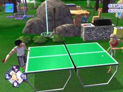 Screen ze hry Sims: Bustin´ Out, The