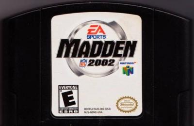 Artwork ke hře Madden NFL 2002