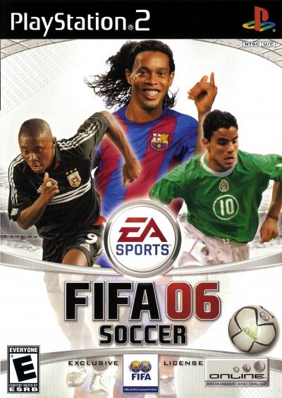Obal hry FIFA Soccer 06