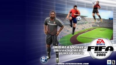 Artwork ke hře FIFA Soccer 2005