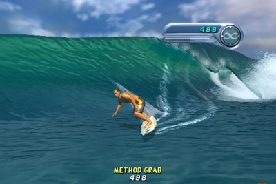 Screen ze hry Kelly Slater´s Pro Surfer