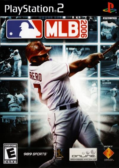 Obal hry MLB 2006