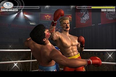 Screen ze hry Rocky
