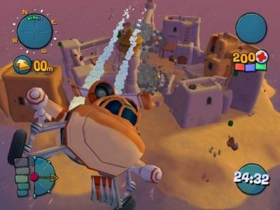 Screen ze hry Worms 4: Mayhem