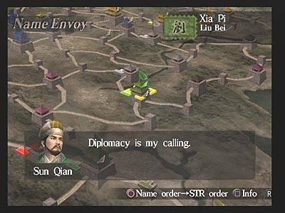 Screen ze hry Dynasty Tactics