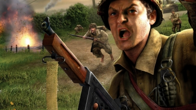 Artwork ke hře Call of Duty 2: Big Red One