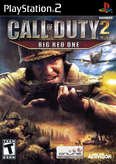 Obal hry Call of Duty 2: Big Red One