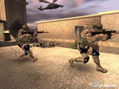 Screen ze hry America´s Army: Rise of a Soldier