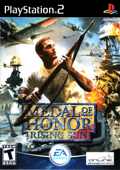 Obal hry Medal of Honor: Rising Sun