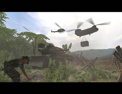 Screen ze hry Vietcong: Purple Haze