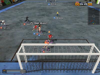 Screen ze hry KICKS online